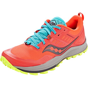 saucony Peregrine 10 Shoes Women vizired/citron